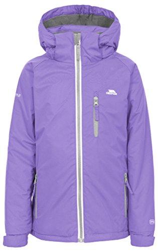 Trespass Cornell II, Viola, 7/8, Warme Gepolsterte Wasserdichte Jacke mit abnehmbarer Kapuze für Kinder /...