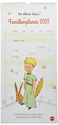 Der Kleine Prinz Familienplaner Kalender 2021