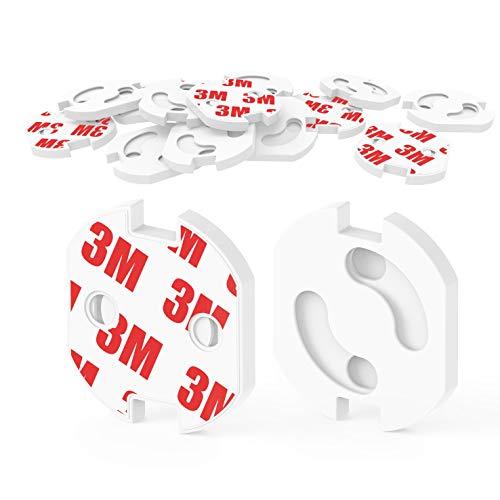 [20 Stück] Kindersicherung für Steckdose mit Drehmechanik,Canwn Steckdosensicherung für Baby und Kinder...