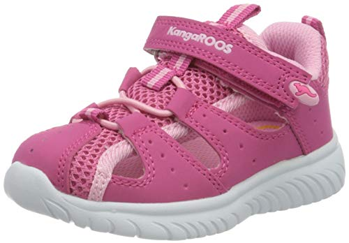 KangaROOS Unisex Baby KI-Rock Lite EV Sneaker, Rot (Daisy Pink/Fuchsia Pink 6176), 24 EU