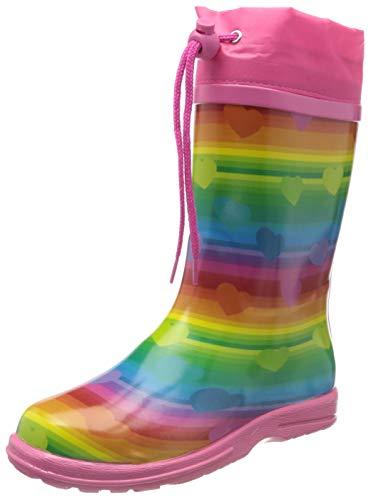 Beck Mädchen Regenbogen Gummistiefel