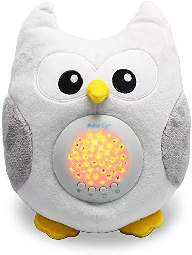 Bubzi Co Baby Spielzeug Spieluhr Baby Nachtlicht & Beruhigende Sound-Maschine & Babyparty Geschenk Tragbare...