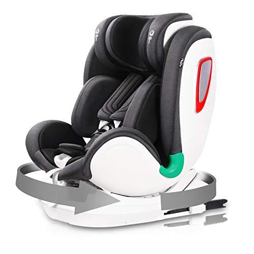 Miophy i-Size Kindersitz Autositz, Baby Autositz 360° drehbar mit ISOFIX und Top Tether (40-135cm), Ab Geburt...