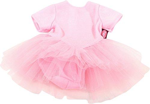 Götz 3402472 Baby Puppenbekleidung Ballettanzug Gr. M - Dress für die kleinen Ballerinas - rosanes...
