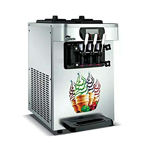 StAuoPK 7.2L Desktop-Three-Color Ice Cream, die Maschine, Handelsrolle vorgekühlten Farbe Stahl...