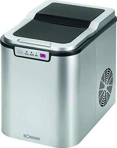Bomann EWB 1027 CB Eiswürfelbereiter für ca. 10–15 kg Eiswürfel in 24 Std., LED-Anzeige und Signalton bei...