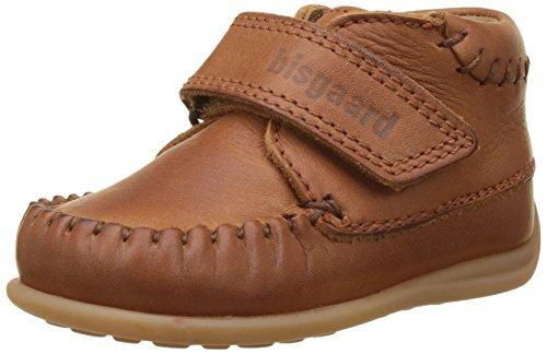 Bisgaard Jungen Unisex Kinder Lauflernschuhe Sneaker, Braun (66 Cognac), 20 EU