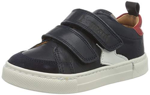 Bisgaard Jungen Karlo Sneaker, Blau (Navy 1402), 22 EU