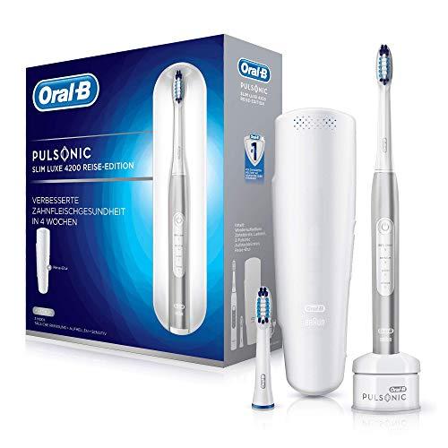 Oral-B Pulsonic Slim Luxe 4200 Elektrische Schallzahnbürste für gesünderes Zahnfleisch in 4 Wochen, mit...