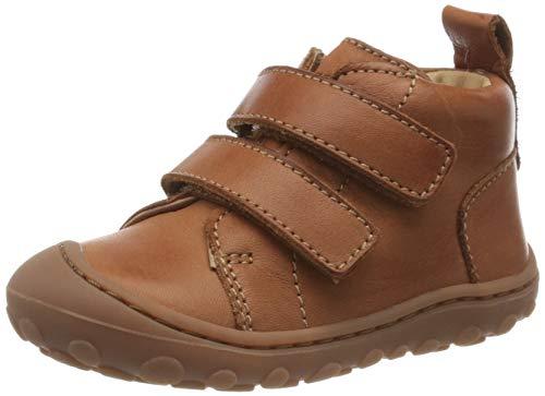 Bisgaard Unisex Baby Gerle Klett Sneaker, Braun (Cognac 66), 25 EU