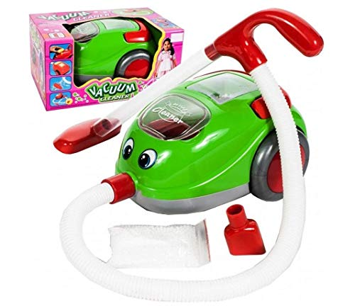 Premium Kinderstaubsauger Vacuum Cleaner mit Saugfunktion Licht Musik - Spielzeug Staubsauger Sauger...