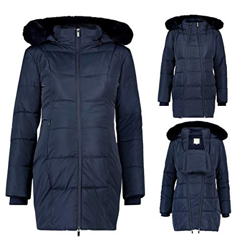 Noppies Damen Jacket 3-Way Anna Umstandsjacke, Blau (Night Sky P277), L