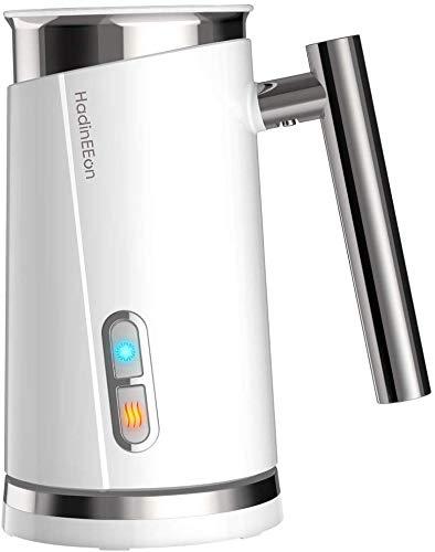 HadinEEon Milchaufschäumer 300ml 500w elektrisch Milchaufschäumer Edelstahl Automatischer Milchschäumer...