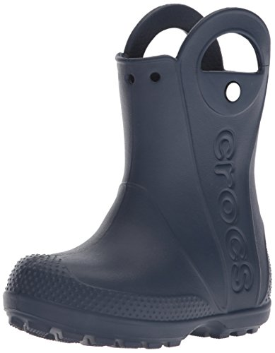Crocs Unisex-Kinder Handle It Rain Boot Gummistiefel, Blau (Navy), 27/28 EU