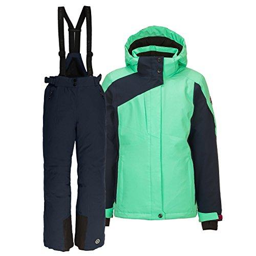 Killtec Kinderskianzug 2 TLG. Skijacke und Skihose (Mint, 152)