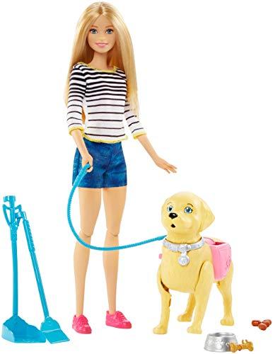 Mattel Barbie Puppe: Ein Puppenset mit Puppe und Hündchen