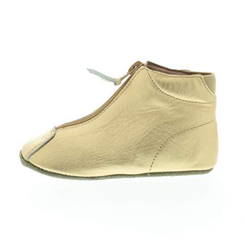Bisgaard Kinder Lauflernschuh Gold Glattleder 2061210 (Numeric_24)