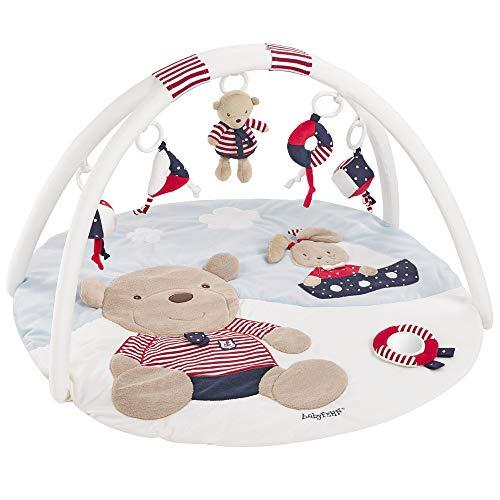 Fehn 078220 3-D-Activity-Decke Teddy / Spielbogen mit 5 abnehmbaren Spielzeugen für Babys Spiel & Spaß von...