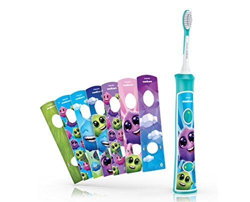 Philips Sonicare for Kids HX6321/03 Sonic Electric Toothbrush with Bluetooth and Coaching App