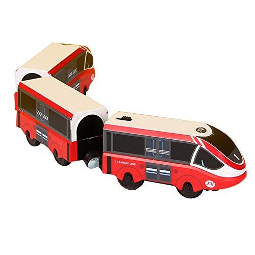 Herbests Elektrische Lok Zug Elektrische Hohe Geschwindigkeit Spielzeug Magnet Batteriebetriebener...
