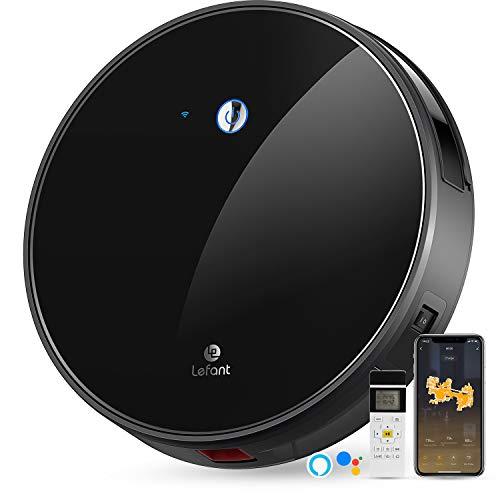 LEFANT Staubsauger Roboter mit Freibewegung, WiFi-Steuerung Saugroboter Staubsauger, Kompatibel mit Alexa und...