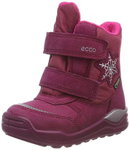 ECCO Mädchen Urban Mini Stiefeletten, Pink (Red Plum 2293), 25 EU