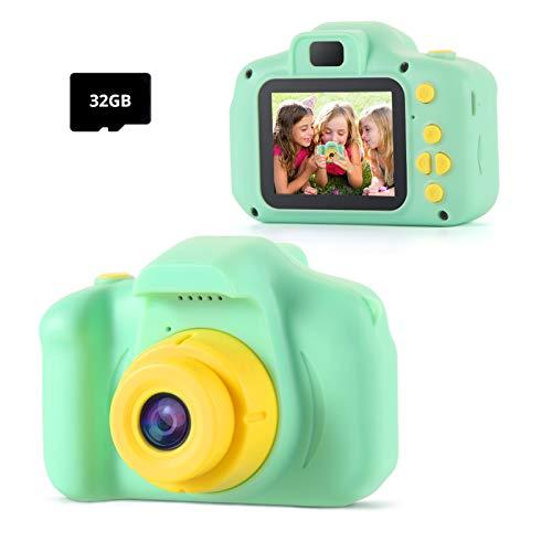 TekHome Kinder Kamera, Spielzeug ab 3 4 5 6 Jahren für Jungen ,Geschenk Mädchen 7 8 9 Jahre,Fotoapparat...