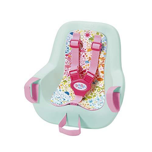 Zapf Creation 827277 BABY born Play & Fun Fahrradsitz mit Gurtsystem, schnell und leicht anzubringen,...