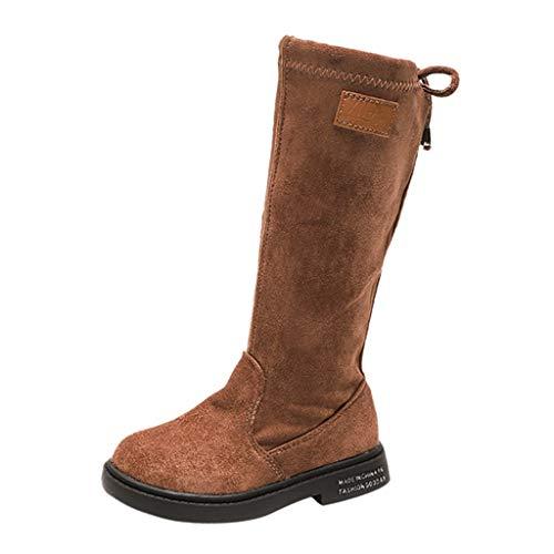 Snakell Hohe Stiefel Kinder, Mädchen Chelsea Boots Kinder Stiefelette Stiefel Lederstiefel Winter Leder...