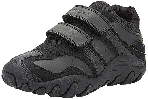 Geox Jungen J CRUSH M Sneakers, Schwarz (Black), 27 EU