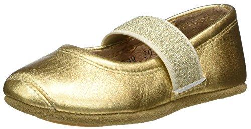 Bisgaard Mädchen Ballet Geschlossene Ballerinas, Gold (02 Gold), 33 EU