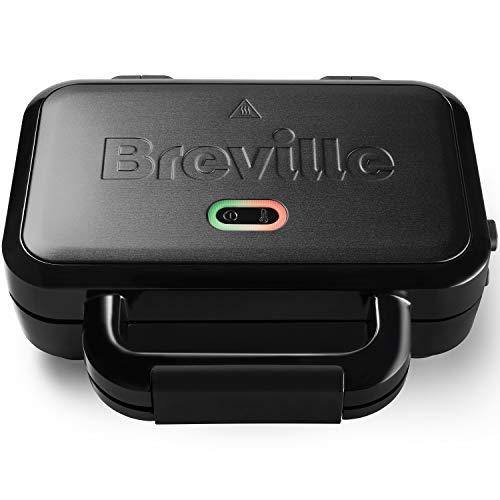 Breville Ultimate-Sandwichmaker mit extra tiefen Platten   Sandwichtoaster zum Toasten von 2Scheiben  ...
