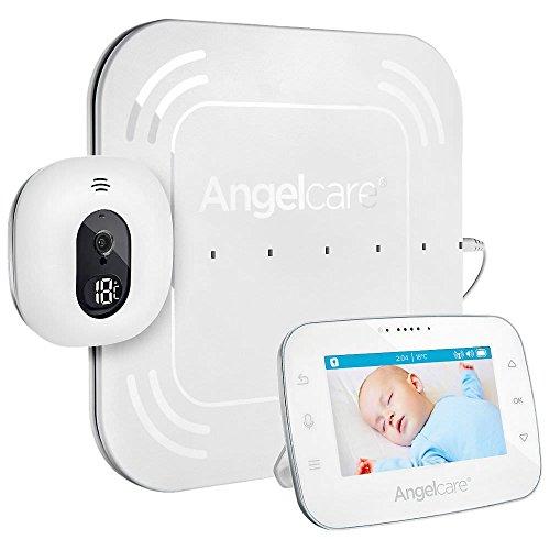 Angelcare A0315-DE0-A1001 Babyphone mit Video-und Bewegungsüberwachung AC315-D / 4.3' Display/Sensormatte...