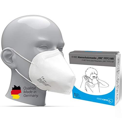 10x FFP3 Atemschutzmaske Zertifiziert Made IN Germany FFP3 Maske Staubschutzmaske Atemmaske Staubmaske 10...