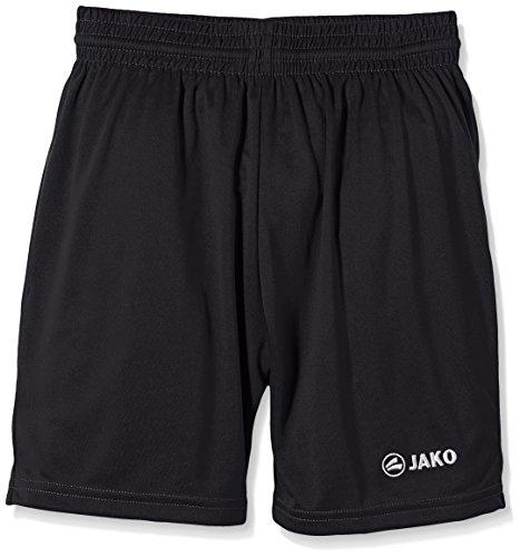 JAKO Kinder Sporthose Manchester Shorts, Schwarz, 5-6 Jahre (Herstellergröße: 1)