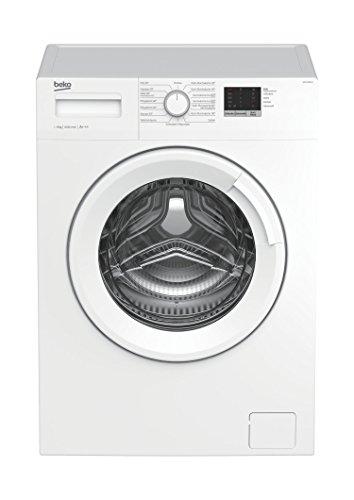 Beko WML 61023 N Waschmaschine Frontlader/6kg/A+++/1000 UpM/Mengenautomatik/elektronische Kindersicherung/15...