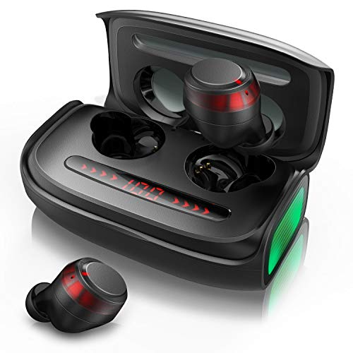 Bluetooth Kopfhörer, Votomy Qualcomm TWS In Ear Bluetooth 5.0 Kopfhörer, Doppelmikrofone, Kräftige Bässe,...