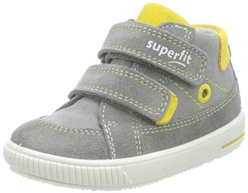 Superfit Moppy Sneaker, GRAU/GELB 2500, 26 EU