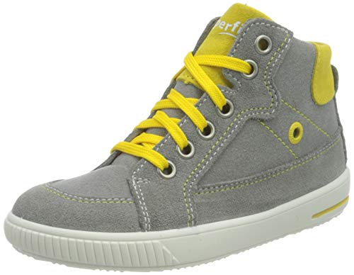 Superfit Moppy Sneaker, GRAU/GELB, 27 EU