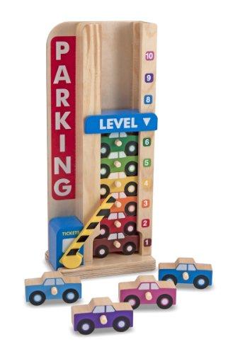 Melissa & Doug | Stack & Count Parking Garage | Developmental Toy | Motor Skills | 3+ | Gift for Boy or Girl
