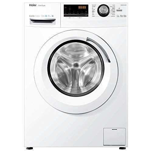 Haier HWD80-B14636 Waschtrockner / A / 1080 kWh/Jahr /1400 UpM / 8 kg Waschen / 5kg Trocken / Endzeitvorwahl /...