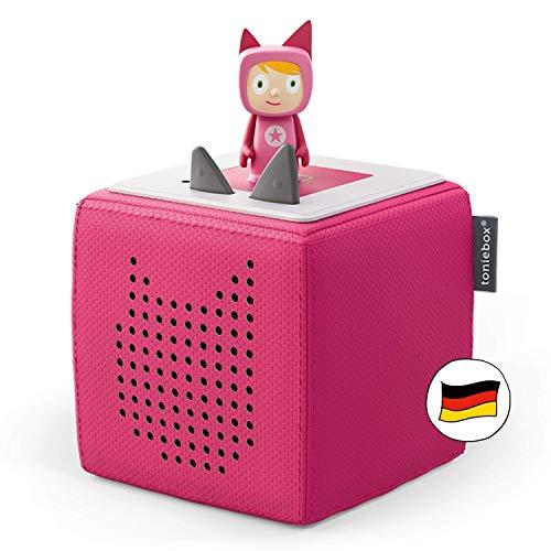 Toniebox Starterset in Pink: Toniebox + Kreativ-Tonie - Der tragbare Lautsprecher für Tonies Hörfiguren und...
