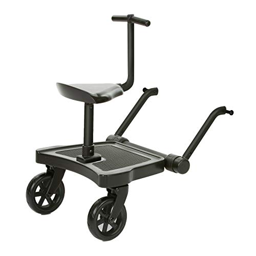 ABC Design Universal Kiddy Board - Kiddie Ride On 2 inkl. Sitz | beslastbar bis 20 kg | Universell für fast...