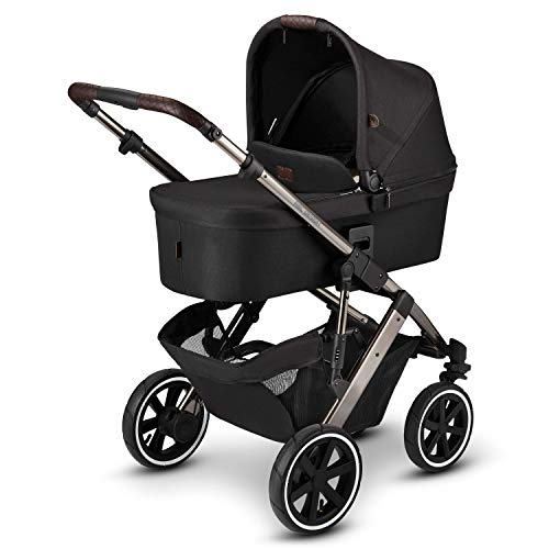 ABC Design 2 in 1 Kinderwagen Salsa 4 Air Diamond Edition – Kombikinderwagen für Neugeborene & Babys –...