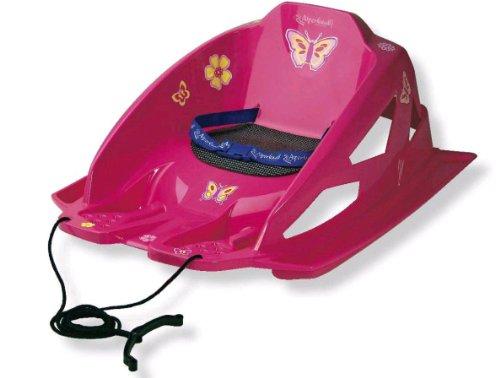 AlpenGaudi Bambino pink Schlitten Babyschlitten Rodler for Girls