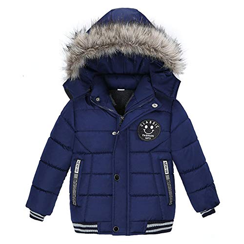 G-Kids AMIYAN Baby Junge Winter Mantel Winterjacke mit Fellkapuze Verdickte Warme Kinderjacke Parka Winter...