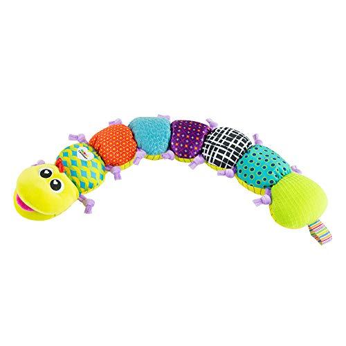 Lamaze LC27107 Babyspielzeug mit MusikWurm Mehrfarbig, Hochwertiges Kleinkindspielzeug, Fördert den Tastsinn...