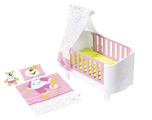 Zapf Creation 827420 BABY born Baby Care Magisches Himmelbett, Puppenbett mit Funktion für Puppen bis ca. 43...