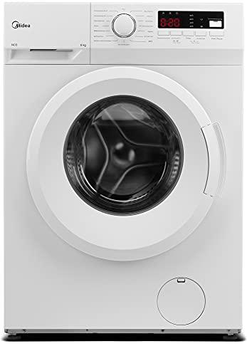 Midea Waschmaschine MFNEW60-105 / 6KG Fassungsvermögen/Energieeffizienzklasse E / 1000...