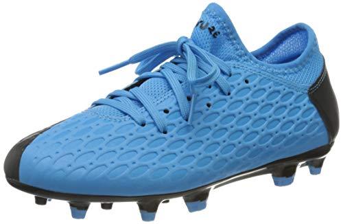 Puma Unisex-Kinder Future 5.4 Fg/ag Jr Botas de fútbol, Blau (Luminous Blue-NRGY Blue Black-Pink Alert), 29...